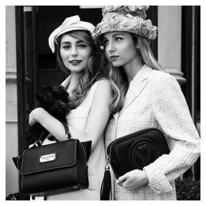 Mario Valentino Handbags - ❣️Valentino Black Nero Suede Zip NWOT💞
