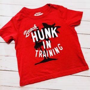 Osh Kosh Other - •Beach Hunk In Training Tee•