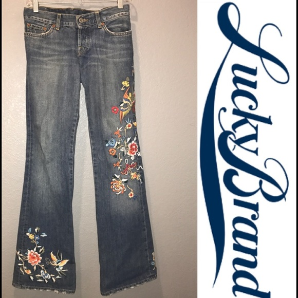 6decbf133c043 Lucky Brand Denim - *ON HOLD*Embroidered Lucky Brand Lil' Maggie Jeans