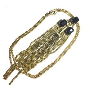 VINTAGE BRASS TONE NECKLACE