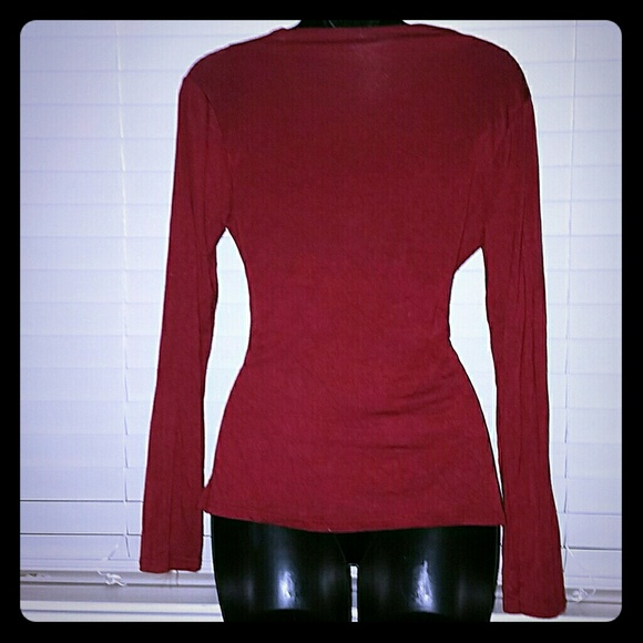 Wet Seal Tops - CCO *Sexy Long Sleeved V-Neck*