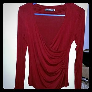 Wet Seal Tops - *Sexy Long Sleeved V-Neck*