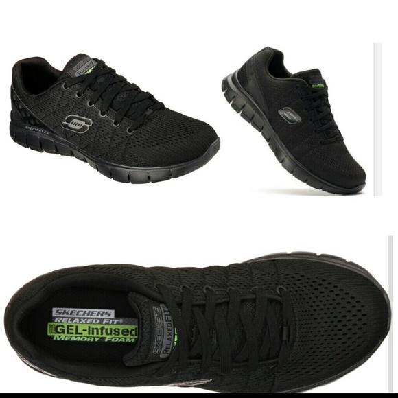 Skechers memory foam gel infused sneakers