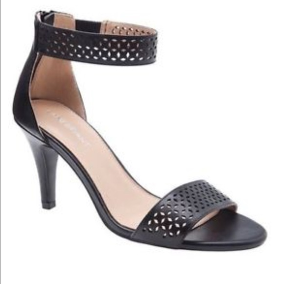 62% off Lane Bryant Shoes - Ankle Strap Cut Out Heel (Wide Width ...