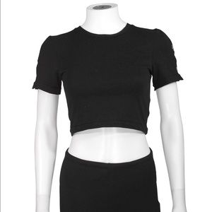 Cheap Monday Tops - 🔥SALE⚡️Cheap Monday - 'Aura' Crop Top NWT