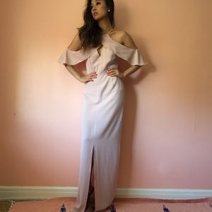Keepsake Dresses & Skirts - Keepsake Off Shoulder Frill Maxi Dress
