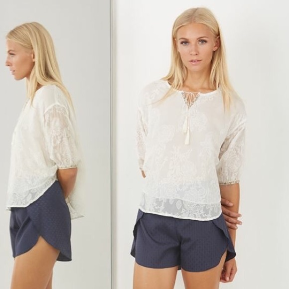 Owl About Happy Pants - Grey Layered Shorts
