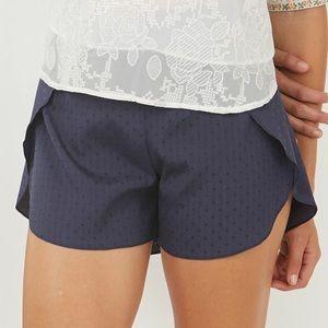 Owl About Happy Shorts - Grey Layered Shorts