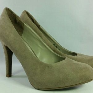 Studio Paolo Maya suede round toe fabric upper 6M