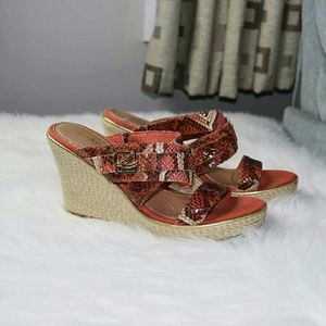 Sperry Top-Sider Shoes - Sperry Top-Sider Snakeskin Heeled Sandals