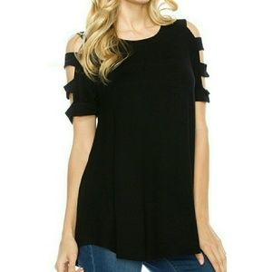 Tops - 1 SMALL LEFT ☻🎉HP🎉 Cut out ladder Sleeve