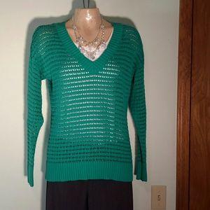 Emerald green Ann Taylor sweater medium