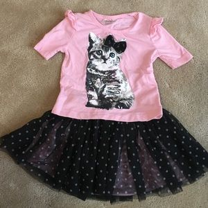Knitworks Other - Boutique Lace Skirt and Matching Shirt