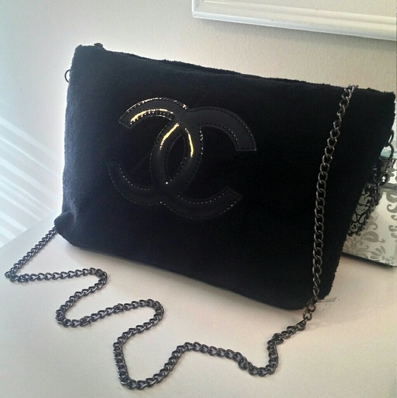 bf5f45c475a1b1 CHANEL Bags | New Vip Black Crossbody Handbag Clutch | Poshmark