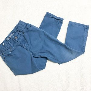 Blue gap skinny jeans