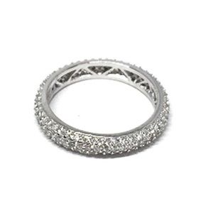 Jewelry - Sterling Silver Eternity, Stackable Wedding Ring
