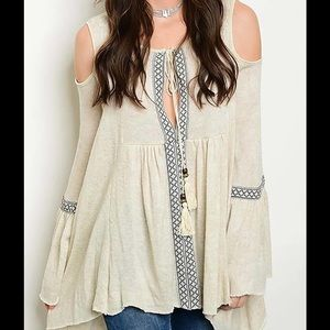 boutique Tops - BoHo Style Top