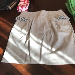 Grey French Connection skirt