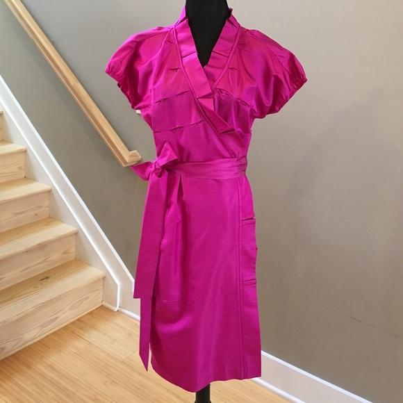 b8a7e71bfd Diane von Furstenberg Dresses & Skirts - Diane Von Furstenberg Victoire Silk  Wrap Dress