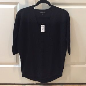 NWT Express black London sweater size XS