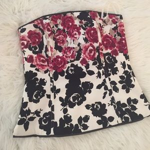 WHBM top in floral