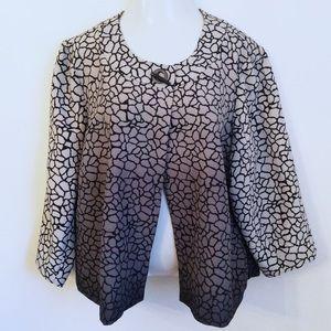 Cato Jackets & Blazers - • CATO • chic ombré print jacket