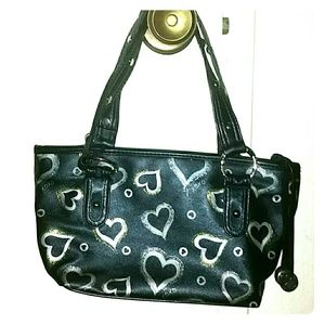 *XOXO Sparkly and Studded Hearts Purse*