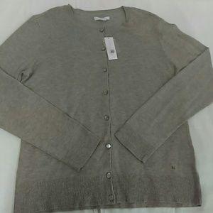 New York & Company Sweaters - NWT NY&C Gray Cardigan Sz. XL
