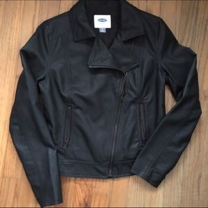 Faux leather Moto jacket