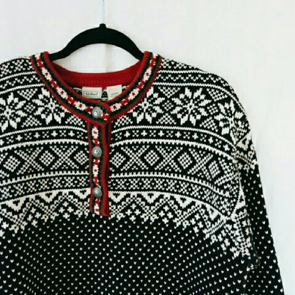 79% off L.L. Bean Sweaters - L.L. Bean Fair Isle Sweater from ...