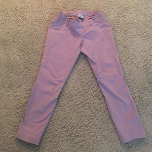 Old Navy Maternity side panel Dixie cropped pant