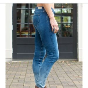 AG Adriano Goldschmied Jeans - AG stilts with ombré leg