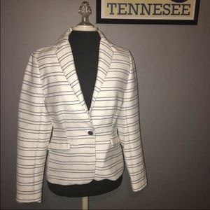 Katherine Barclay Jackets & Blazers - NWT Katherine Barclays nautical striped blazer