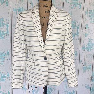 Katherine Barclay Jackets & Blazers - NWT Katherine Barclays nautical striped blazer