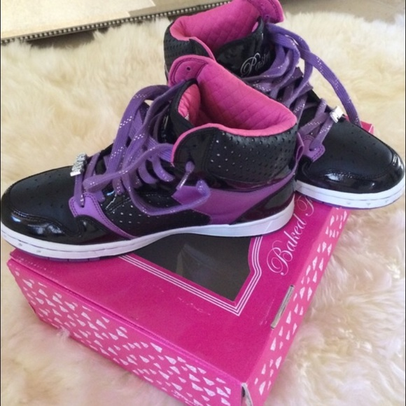 Pastry Shoes High Top Glam Tennis Poshmark