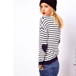 ASOS Sweaters - Price Drop!❤️ASOS Heart Elbow Patch Sleeve Sweater