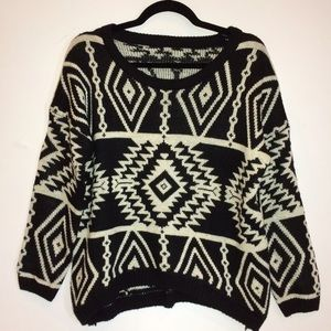 Boutique Sweaters - Tribal Sweater