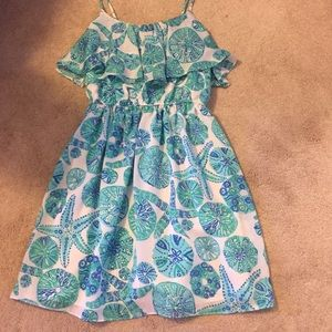 lilly pulitzer flowy dress