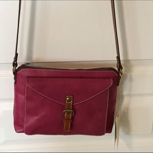 Patricia Nash Handbags - NWT Patricia Nash Avellino Leather Crossbody