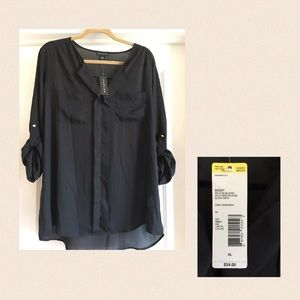 NWT Black Tunic size XL; brand is Metaphor