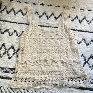 Pins & Needles Tops - Urban Outfitters Lace Tank