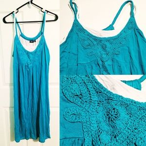 Apt. 9 Dresses & Skirts - NWT Turquoise Strappy Dress