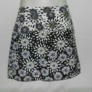 Zara Basic Skirt Floral Size Medium