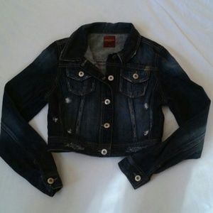 Highway Jeans Jackets & Blazers - Highway Jeans cropped jean jacket size S