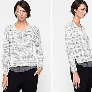 Eileen Fisher Space Dyed V-neck Sweater