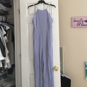 Other - Pastel blue backless jumpsuit