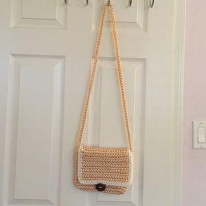 Handbags - Boho crochet purse