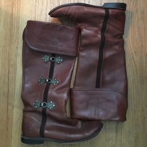 Frye Shoes - SOLD!!! Brown Frye Boots
