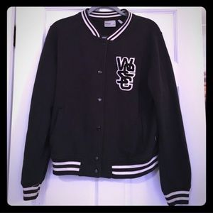 Wesc Jackets & Blazers - WeSC varsity fleece jacket