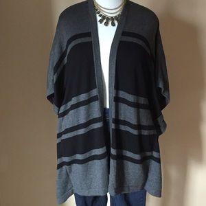 August Silk Jackets & Blazers - Poncho Wrap